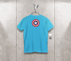 T-shirt capitanamerica back