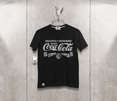 T-shirt cocacola