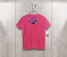 T-shirt peaceandlove back