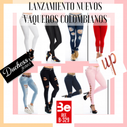 NUEVOS VAQUEROS PUSH UP DUCHESS -- MODA COLOMBIANA 01-04-20