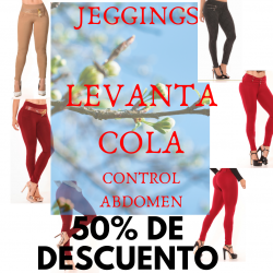 PROMOCION JEGGINGS PUSH UP